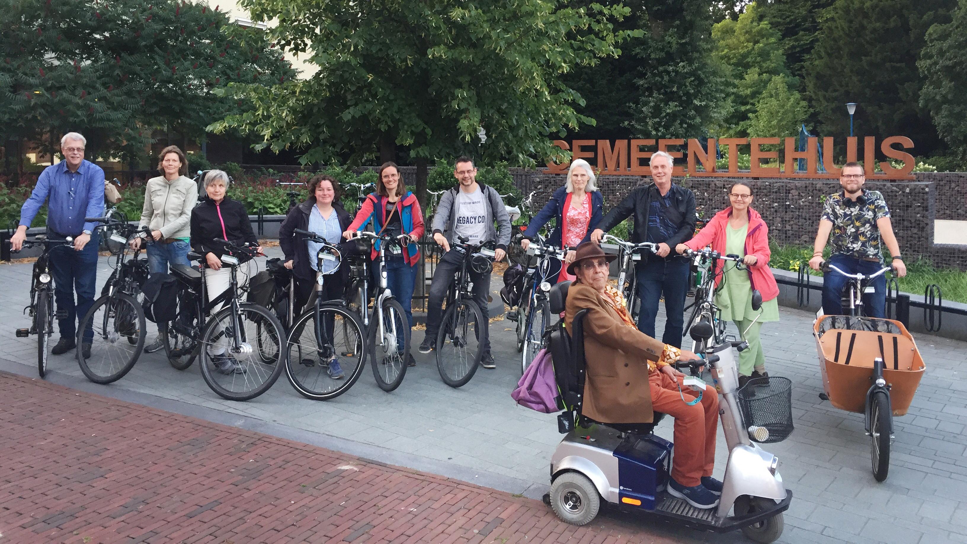 Provincie Utrecht krijgt inzicht luchtkwaliteit met behulp van sensor op fiets