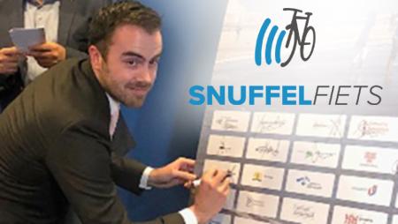's-Hertogenbosch zet Snuffelfiets in voor Schone Lucht
